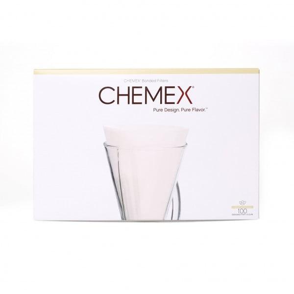 Chemex Filterpapier (passend für 1 bis 3 Tassen) - 100 Stk.
