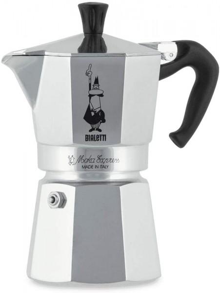 Bialetti - Moka Express (Espressokocher) 2 Tassen