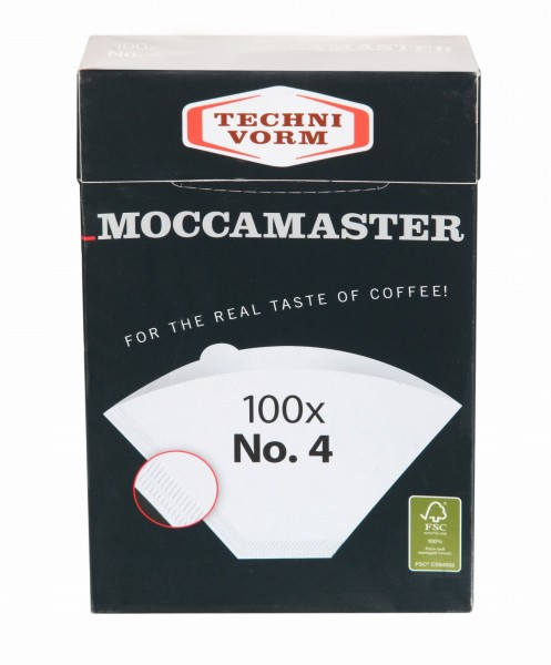 Moccamaster Filterpapier Nr.4 - 100 Stk.